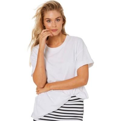 ベティベーシック Betty basics レディース Tシャツ トップス Boxy Tee White