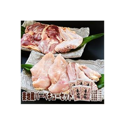 妻地鶏バーベキューセット90<3-25>