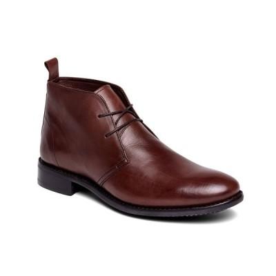 アンソニー ヴィア ブーツ&レインブーツ シューズ メンズ Men's Arthur Chukka Desert Boots Chocolate Brown