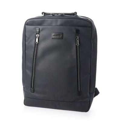 エルイーディーバイツ L.E.D.BITES PROPS 傷つきにくいポリカーボネイト素材 バックパックビジネスバッグ (ネイビー)