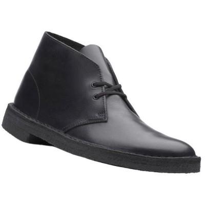 デザートブーツ  Desert Boot クラークス メンズ オリジナルズ ブラックレザー Clarks Originals