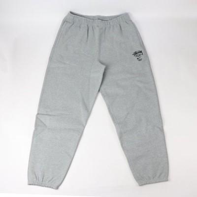 国内正規品 2021SS NIKE × STUSSY Fleece Sweat Pants Grey 【DC4227-050】 新品未使用品