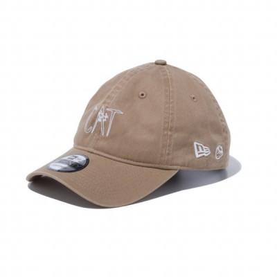 ニューエラ レディース キャップ 9TWENTY AI TAKAHASHI CAT KHA SWHI 12712301 帽子 : キャメル NEW ERA
