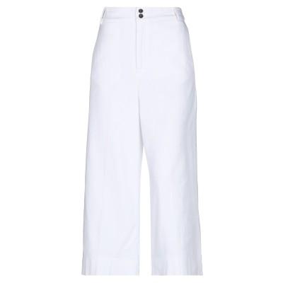 ジェッカーソン JECKERSON パンツ ホワイト 44 コットン 98% / ポリウレタン 2% パンツ