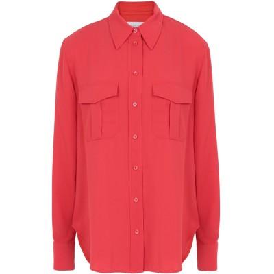 カルバン クライン CALVIN KLEIN シャツ レッド 34 ポリエステル 100% シャツ