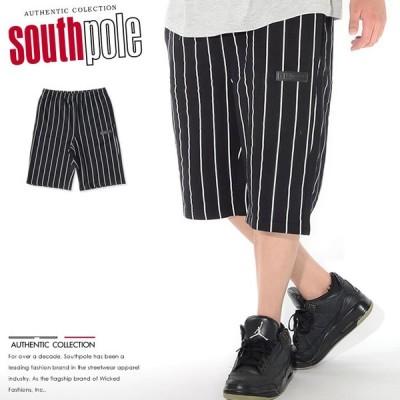 SOUTHPOLE サウスポール ショートパンツ ハーフパンツ スウェット ストライプ (11922452) セール