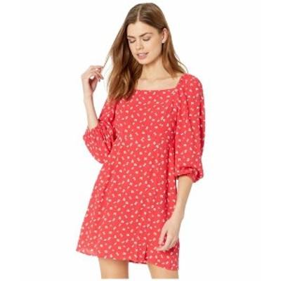 サンクチュアリー レディース ワンピース トップス Cilia Mini Dress Wildflower Red