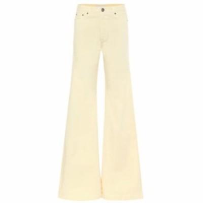マシュー アダムズ ドーラン Matthew Adams Dolan レディース ジーンズ・デニム ボトムス・パンツ high-rise flared jeans Lemon