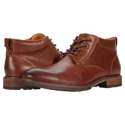 フローシャイム Lodge Plain Toe Chukka Boot メンズ ブーツ Chestnut Smooth