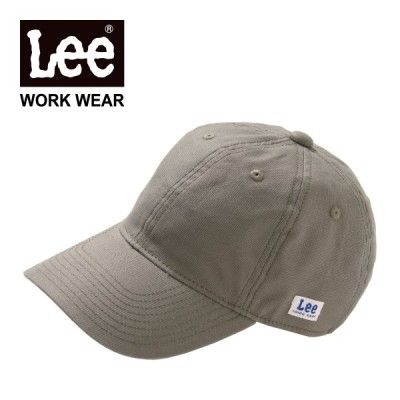 帽子 レディース メンズ Lee (リー) ベースボールキャップ lca99005 ストレッチダック シンプル 春 夏 秋 冬