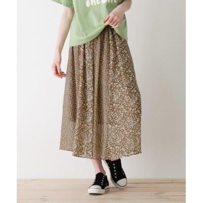 SHOO・LA・RUE/Cutie Blonde(シューラルー) 【S-L】花柄切り替えスカート