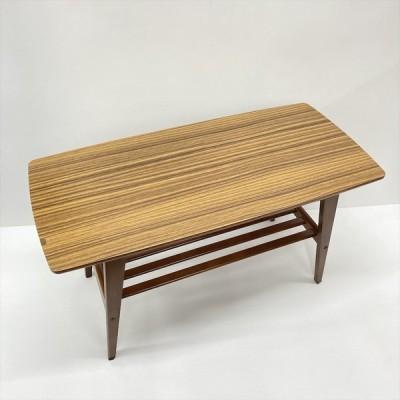 中古 karimoku カリモク60 リビングテーブルS T36300RW ウォルナット W90×D43×H48