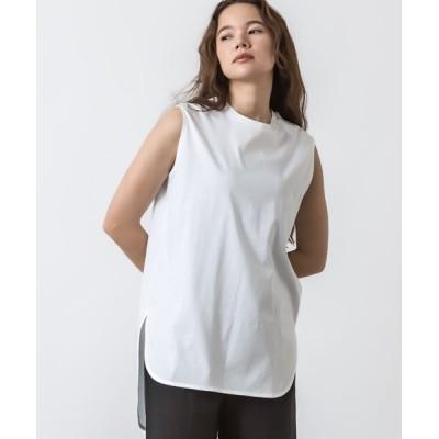 tシャツ Tシャツ クルーネックノースリーブチュニック
