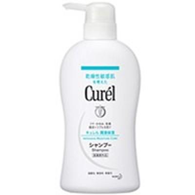 キュレル シャンプー 420ml ( ポンプタイプ ) ( 花王/Curel/乾燥性敏感肌/医薬部外品/ヘアケア )