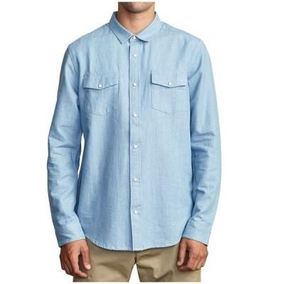 ルーカ メンズ シャツ トップス RVCA Nakama II Long-Sleeve Shirt