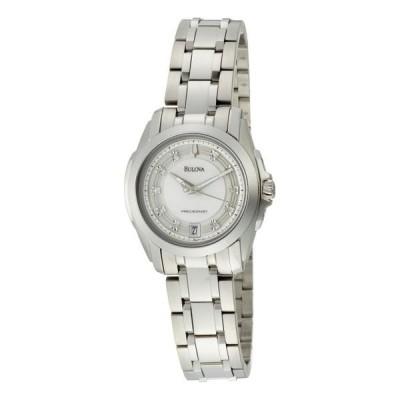 ブローバ Bulova 女性用 腕時計 レディース ウォッチ ホワイト 96P115