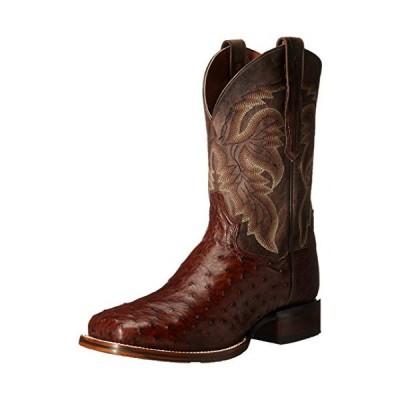 Dan Post Men's Alamosa Western Boot, Chocolate, 12 D US