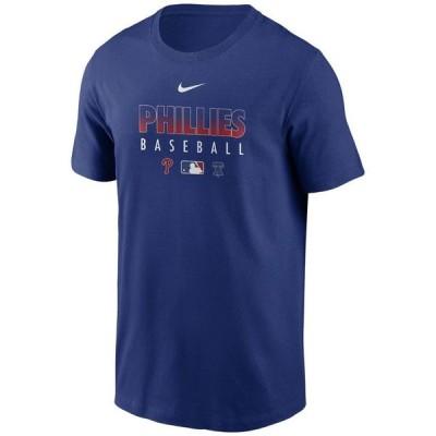 ナイキ メンズ Tシャツ トップス Philadelphia Phillies Men's Early Work Dri-Fit T-Shirt