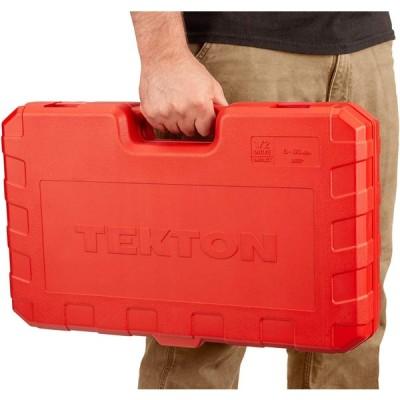 TEKTON 1/2 Inch Drive Deep 6-Point Impact Socket Set, 31-Piece (8-38 m