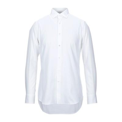 バグッタ BAGUTTA シャツ ホワイト 39 コットン 100% シャツ