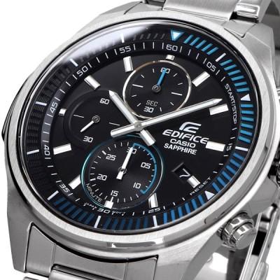 送料無料 新品 腕時計 CASIO カシオ 海外モデル EDIFICE エディフィス スリムケース クロノグラフ サファイアガラス メンズ EFR-S572D-1AV
