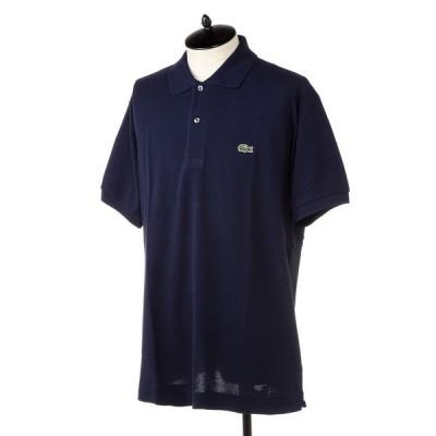 ラコステ メンズ ポロシャツ LACOSTE L1212 166 ネイビー ネイビー L