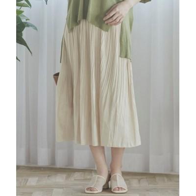 LIPSTAR / シャイニーサテンプリーツスカート WOMEN スカート > スカート