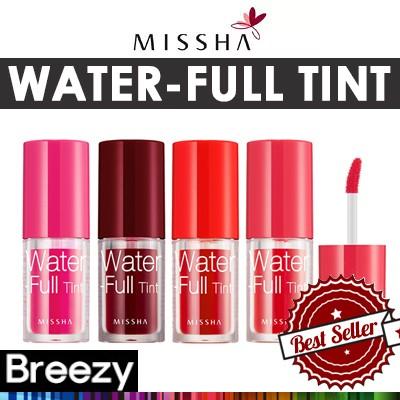[BREEZY] ★ [MISSHA] Water-Full Tint 4.5g 4color