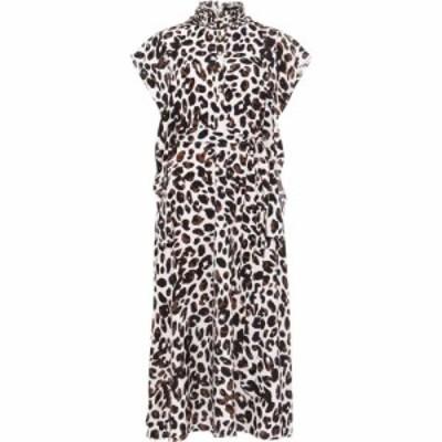 ダンセル Damsel in a Dress レディース ワンピース ワンピース・ドレス Trudy Leopard Print Dress Camel