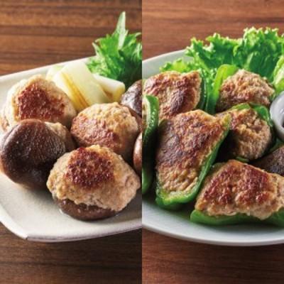 国産素材の肉詰めセット (2種 計5袋) FG5819