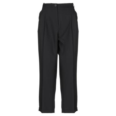 ジジル JIJIL パンツ ブラック 42 ポリエステル 82% / レーヨン 15% / ポリウレタン 3% パンツ