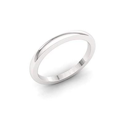 ダイヤモンドレア ナチュラル認定 結婚指輪 950 プラチナ 3.00 MM プレーンバンド ユニセックス メンズ レディース サイズ4〜9