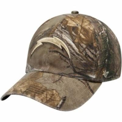 47 フォーティーセブン スポーツ用品  47 Los Angeles Chargers Realtree Franchise Slouch Fitted Hat