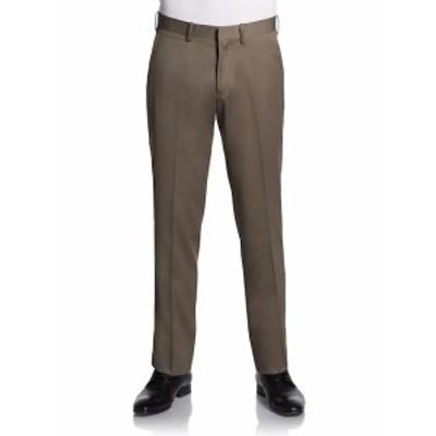 サックスフィフスアベニュー メンズ パンツ Trim-Fit Wool Trousers