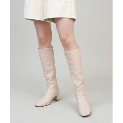 SPINNS / エコレザーロングブーツ WOMEN シューズ > ブーツ