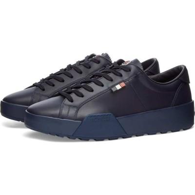 モンクレール Moncler メンズ スニーカー シューズ・靴 sal patch logo sneaker Navy