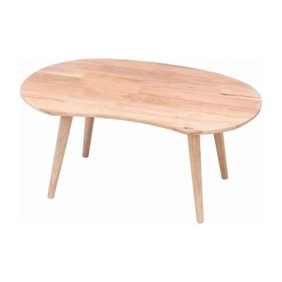 Natural Signature センターテーブル MAME W740×D475×H325mm 天然木 ラバーウッド おしゃれ 代引不可