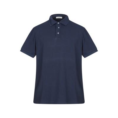 PANICALE ポロシャツ ダークブルー 46 コットン 100% ポロシャツ