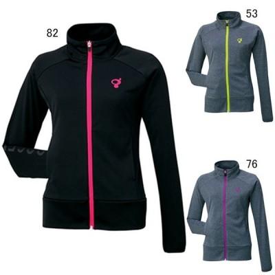 ゴーセン テニス トレーニングジャケット レディース ニットジャケット GOSEN W1501