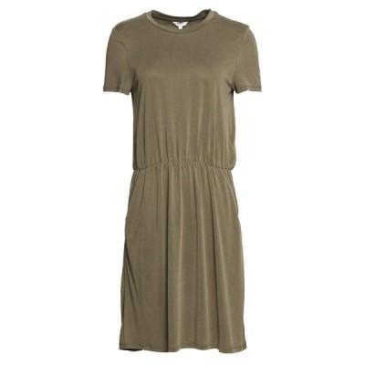 オブジェクト ワンピース レディース トップス OBJANNIE MAXWELL DRESS  - Jersey dress - burnt olive