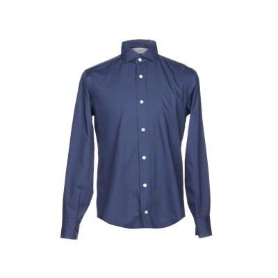 イレブンティ ELEVENTY シャツ ブルーグレー 44 コットン 100% シャツ