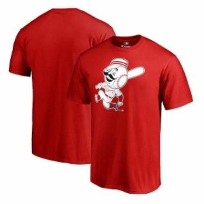Fanatics Branded ファナティクス ブランド スポーツ用品  Fanatics Branded Cincinnati Reds Red Cooperstown Collection Huntington T-