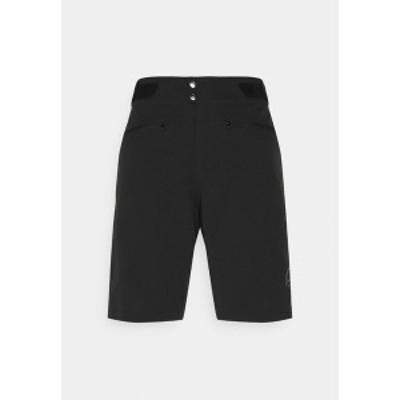 ノローナ レディース カジュアルパンツ ボトムス FJR FLEX1 LIGHTWEIGHT SHORTS - Sports shorts - caviar caviar