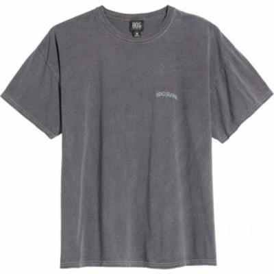 アーバンアウトフィッターズ BDG URBAN OUTFITTERS メンズ Tシャツ トップス Logo Embroidered T-Shirt Washed Black