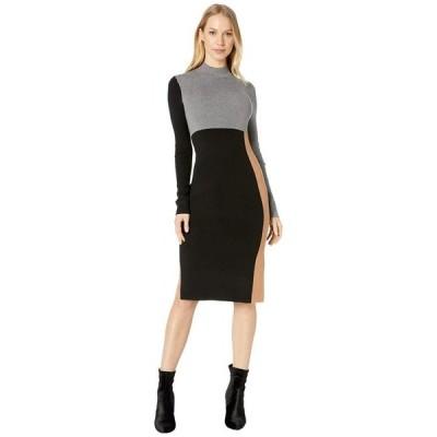 ビーシービージーマックスアズリア レディース ワンピース トップス Color-Block Sweaterdress
