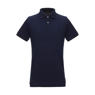 SETTANTOTTANTA ポロシャツ ダークブルー S コットン 100% ポロシャツ