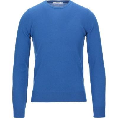 カングラ カシミア KANGRA CASHMERE メンズ ニット・セーター トップス sweater Blue