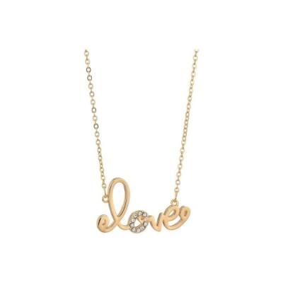 リリーピュリッツァー Lilly Pulitzer レディース ネックレス ジュエリー・アクセサリー We Want You Amore Necklace Gold Metallic