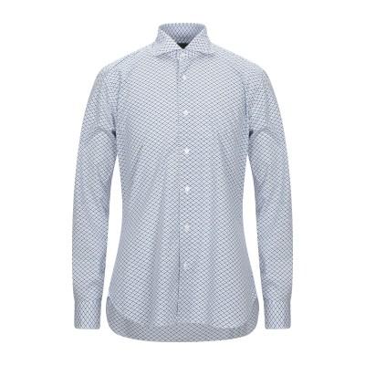 BARBA Napoli シャツ ホワイト 41 コットン 100% シャツ