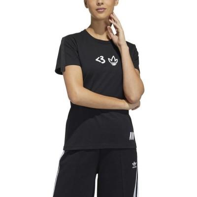レディース adidas アディダス W VDAY TEE SS ショートスリーブTシャツ H39014 BLK